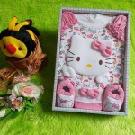 Paket Kado Dress Hello Kitty Exclusive Pink