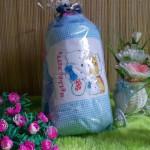 TERMURAH paket kado bayi bantal guling hello kitty biru