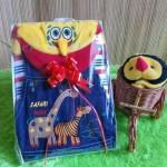 TERMURAH paket kado bayi cowok jeans baby gift set spongebob