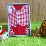 baby gift set paket kado bayi cowok merah