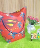 kemasan kado, gift bag TULIP SUPERMAN 15rb bahan tebal dan kaku jadi bisa digunakan berulang kali cocok banget untuk bungkus kado ukuran 35X15X41cm
