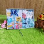 TERLARIS paket kado bayi newborn gift set SERBA BIRU -02 HEMAT BANGET