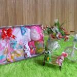 TERLARIS paket kado bayi newborn gift set SERBA PINK HEMAT BANGET