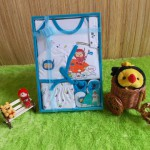 baby gift set paket kado bayi eksklusif kiddy baby biru