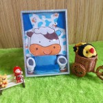 baby gift set paket kado bayi sapi biru