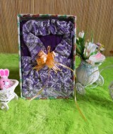 paket kado bayi CANTIK vintage ungu 52 terdiri dari set rok bandana vintage ungu adem plus kaos putih cantik muat untuk 0-12bln