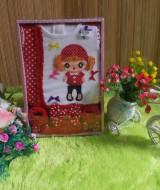paket kado bayi eksklusif noni belanda merah 75 terdiri dari dress bayi plus bando bayi dan sepatu bayi imut muat untuk 0-6 bulan cocok banget untuk kado