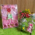 TERCANTIK paket kado bayi pinky girl rose