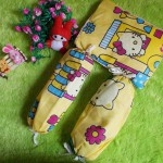PALING MURAH set bantal guling bayi hello kitty kuning