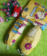 PALING MURAH set bantal guling bayi hello kitty kuning 28 terdiri dari 1 bantal dan 2 guling,juga cocok untuk kado