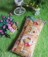 gendongan menyamping bayi praktis motif Hello Kitty orange 29 muat untuk bayi newborn 0-18bln cocok untuk kado