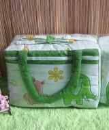 TERLARIS tas bayi botol susu terpisah 2in1 gajah hijau Rp 67.000 praktis untuk membawa botol susu dan perlengkapan bayi cocok untuk kado