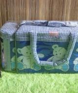 TERLARIS tas bayi botol susu terpisah 2in1 teddy bear biru Rp 67.000 praktis untuk membawa botol susu dan perlengkapan bayi cocok untuk kado