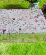 kotak kado giftbox kemasan kado motif eiffel paris n sepeda serie-D 25 tebal,bisa dipakai berulang kali,jadikan kadomu lebih istimewa,dimensi ukuran 31x21x8,5cm