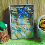 paket kado bayi newborn baju koko yuk sholat cream PLUS PECI
