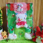 Paket Kado Bayi Baby Gift Dress Hijau Hello Kitty Series