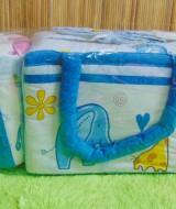TERLARIS tas bayi botol susu terpisah 2in1gajah biru Rp 67.000 praktis untuk membawa botol susu dan perlengkapan bayi cocok untuk kado