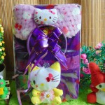 kado Lahiran Paket Kado Bayi Baby Gift Dress Soft Ungu Hello Kitty Series