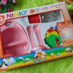 paket kado bayi kado melahirkan kado tempat makan bayi feeding set NINIO pink