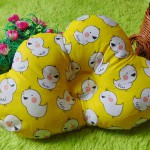 kado bayi bantal peang peyang bantal awan cloud pillow motif ayam kuning