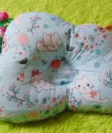 kado bayi bantal peang peyang bantal awan cloud pillow motif kucing biru