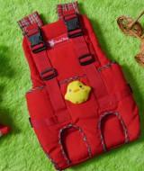 kado bayi gendongan bayi depan claudia baby merah boneka bebek 75 bahan kuat dan lembut untuk menggendong bayi,juga cocok untuk kado bayi
