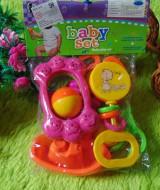 kado bayi murah set 6in1 mainan bayi rattle icik-icik krincingan bisa bunyi komplit (6)