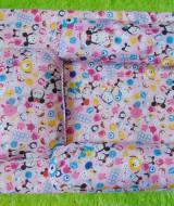 PALING MURAH kado bayi set kasur bayi karakter disney tsum tsum plus bantal dan guling 45 terdiri dari 1 kasur,2guling,1bantal,uk kasur 55x47cm cocok untuk kado bayi