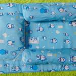 PALING MURAH kado bayi set kasur bayi karakter doraemon plus bantal dan guling