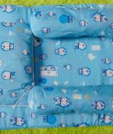 PALING MURAH kado bayi set kasur bayi karakter doraemon plus bantal dan guling (1)