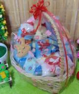 TERLARIS paket kado bayi baby gift kado Melahirkan-keranjang LOVE komplit- parcel Parsel bayi bingkisan bayi baby hampers ANEKA WARNA (2)