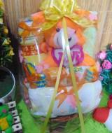 TERLARIS paket kado bayi baby gift kado Melahirkan-rotan cute pot komplit- parcel parsel Bayi bingkisan bayi baby hampers ANEKA WARNA (1)