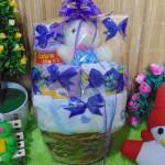 TERLARIS paket kado bayi baby gift kado Melahirkan-rotan cute pot komplit- parcel parsel Bayi bingkisan bayi baby hampers ANEKA WARNA