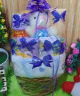 TERLARIS paket kado bayi baby gift kado Melahirkan-rotan cute pot komplit- parcel parsel Bayi bingkisan bayi baby hampers ANEKA WARNA (4)