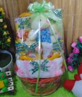 TERLARIS paket kado bayi baby gift kado Melahirkan-rotan cute pot komplit- parcel parsel Bayi bingkisan bayi baby hampers ANEKA WARNA (7)