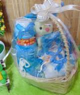 TERLARIS paket kado bayi baby gift kado melahirkan-keranjang LITTLE LOVE komplit- parcel parsel bayi bingkisan bayi baby hampers ANEKA WARNA (2)