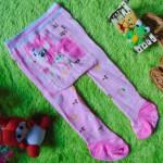 kado bayi celana panjang bayi rajut legging cotton rich lembut 6-12bulan motif little pony pink anti slip
