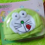 Kado Bayi Baby Gift Topi Bayi Newborn 0-12bulan Boboko Karakter Doraemon Hijau