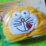 Kado Bayi Baby Gift Topi Bayi Newborn 0-12bulan Boboko Karakter Doraemon Kuning