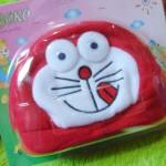 Kado Bayi Baby Gift Topi Bayi Newborn 0-12bulan Boboko Karakter Doraemon Merah