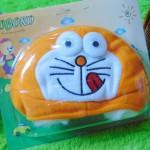 Kado Bayi Baby Gift Topi Bayi Newborn 0-12bulan Boboko Karakter Doraemon Orange