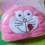 Kado Bayi Baby Gift Topi Bayi Newborn 0-12bulan Boboko Karakter Doraemon Pink