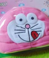 Kado Bayi Baby Gift Topi Bayi Newborn 0-12bulan Boboko Karakter Doraemon Pink 32 bahan lembut adem,cocok untuk penggemar Doraemon