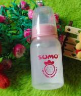 TERMURAH Kado Bayi Botol Dot Susu Bayi Sumo BPA FREE DEHP FREE Warna Pink (1)