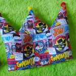 kado bayi Bantal mahkota crown pillow bantal peyang Peang bayi baby motif komik batman 37