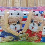 Kado bayi tas perlengkapan bayi motif beruang stars dengan wadah botol susu tahan panas dingin (4)