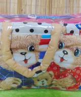 kado bayi tas perlengkapan bayi motif beruang stars dengan wadah botol susu tahan panas dingin 65 praktis dibawa, motif lucu, cocok untuk kado,dimensi 40x17x23cm (4)