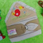 TERLARIS kado lahiran bayi gendongan bayi samping menyamping praktis burung pipit cream