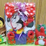 Kado Lahiran Paket Kado Bayi Baby Gift Dress Minnie Mouse Merah Ungu Cantik