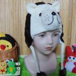 kado bayi topi binatang animal hat beruang cokelat bayi 0-12bulan